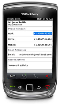 mobile email on your blackberry
