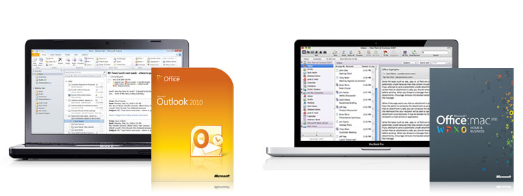 outlook 2010, outlook 2011