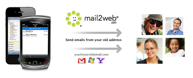 Keep Your Old Email Method 2